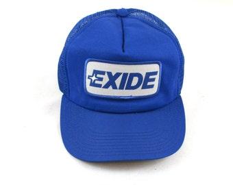Vintage Exide Batteries Snapback Hat