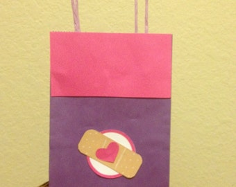 Doctor party favor bag.