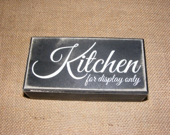 Box Sign Kitchen for Display Only Family Mother Kitchen Home Decor #82