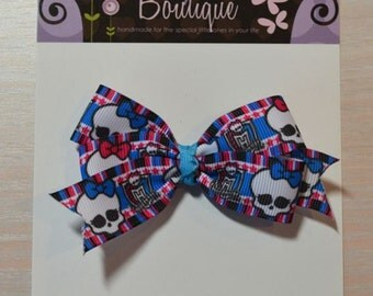 Boutique Style Hair Bow - Monster High