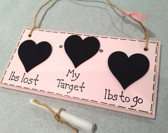 Weight Loss Plaque by Amore Art