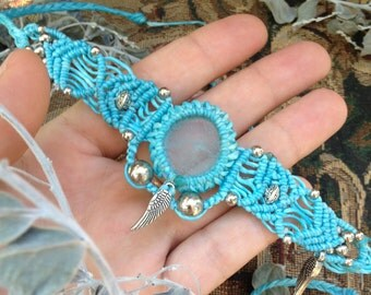 magical macrame head pieces / chockers