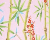 One Yard - 1 Yard of Luli in Pink - CHINOISERIE CHIC by Dena Fishbein for Free Spirit Fabrics