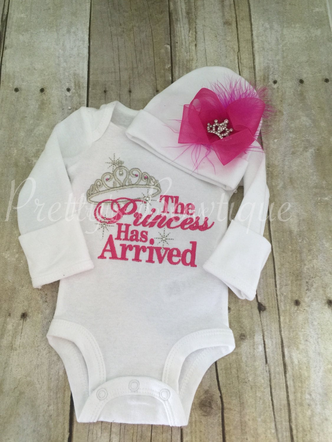Baby Girl Coming Home Outfit The Princess Has Arrived