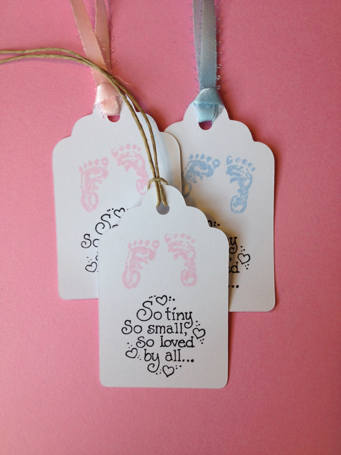 baby shower tags gift tags set of 36 baby by moomoohandmadecards
