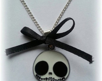 Cute Jack necklace with bow