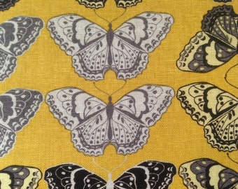 Valori Wells Linen butterfly fabric Cocoon-1yd