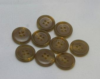 3 pieces, 25 mm, 8 pieces, 20 mm, 2 holes,  Simulation of  horn button, Man's suit button, Matte resin pattern, suit button,coat button