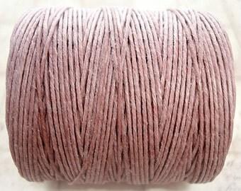 1 Yard - Victorian Rose - 7ply Irish Waxed Linen Cord