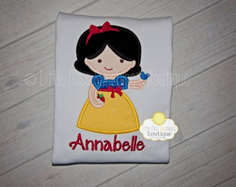 Snow White Shirt, Snow White Birthday, Snow White Personalized Shirt