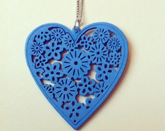 Blue Heartwork