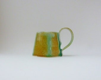 Coffee cup. Porcelain cup. Ceramic mug. Porcelain cup. Cup. Handmade ceramic cup. Pottery cup. Ceramic coffee cup. Cup with celadon glaze.