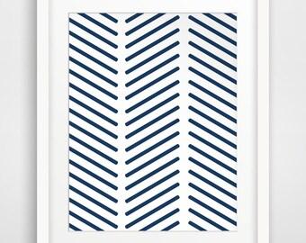 Moroccan Art, Geometric Print, Pattern Wall Art, Navy Prints, Moroccan Print, Geometric Art, Blue Wall Prints, Printable Art, Wall Decor