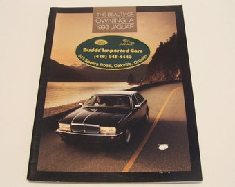 1993 Jaguar XJ6 Sales Brochure The Beauty of Owning a 1993 Jaguar