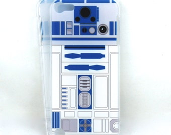 R2-D2 inspired case for iPOD Touch 5/6 - This IS the Droid you are looking for! Star Wars