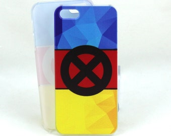 X-Men inspired case for iPhone 5 - Classic X-Men Blue and Gold