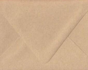 A7 Envelopes Australia Kraft Envelopes Matte Natural Rustic 5.25x7.25 Inch Suitable For 5x7 Inch Invitation Pack of 10
