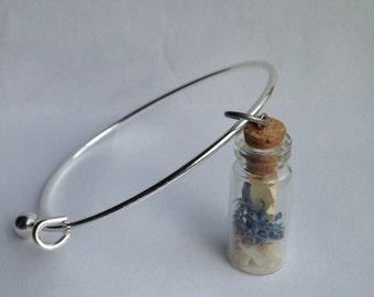 Tiny Terrarium Moss Bracelet, Terrarium Jewelry, Fashion, Moss Bracelet, Terrarium Bracelet, Charm Bracelet