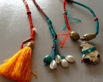 Saltire rope woven silk