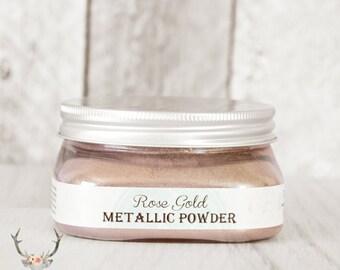 Vintage Storehouse Metallic Powder {Rose Gold}
