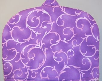 Purple Swirl Print Tea Cozy Size Small (SD5616)