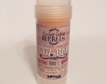 Body Balm {All Natural}  Lotion Balm Stick - 2 oz.