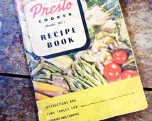 vintage presto pressure cooker instructions