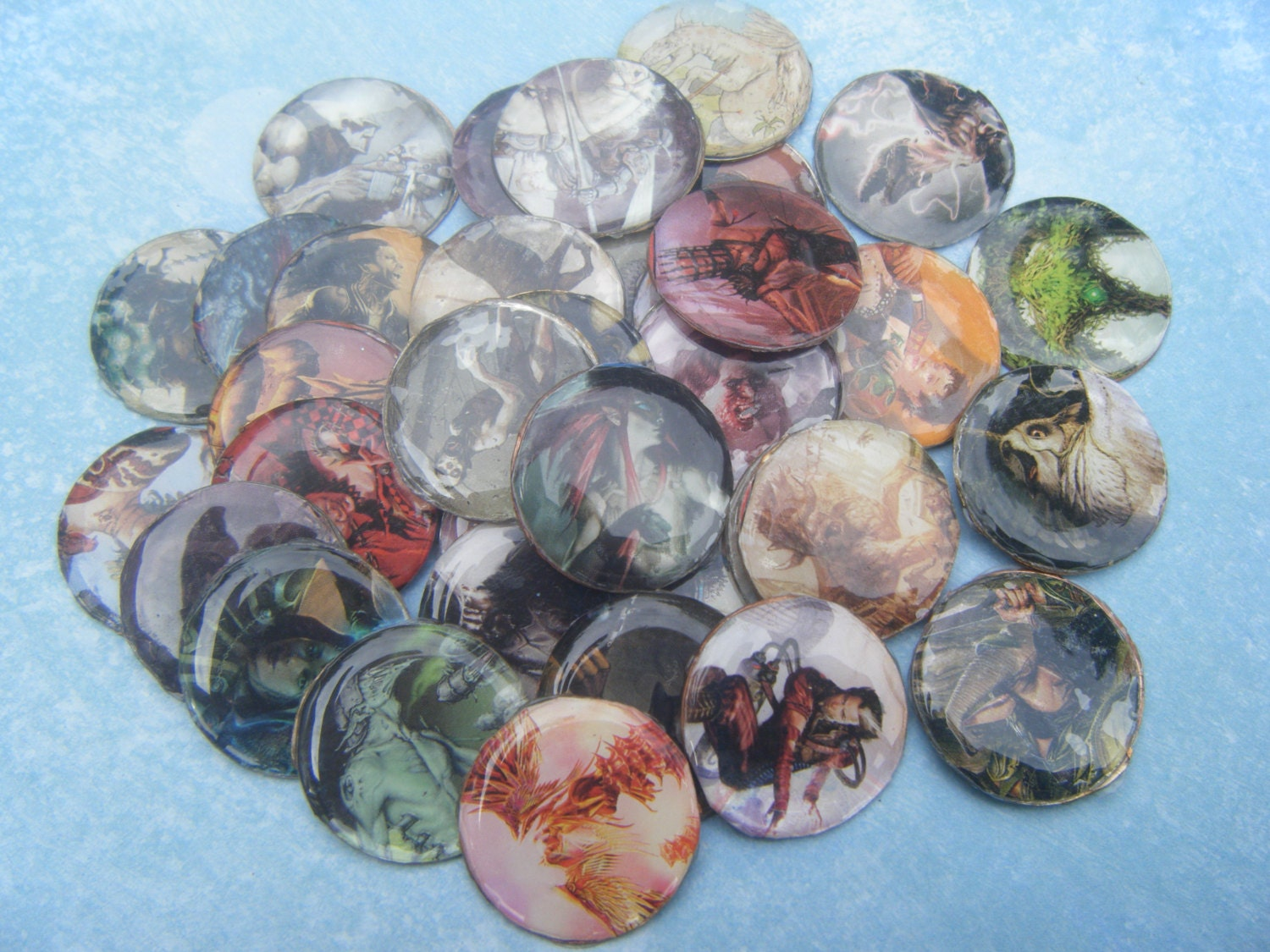 Magic: The Gathering Tokens by AnimeHaven on Etsy