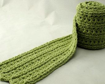 Crochet Scarf Pattern: Pediwick Scarf, PDF download