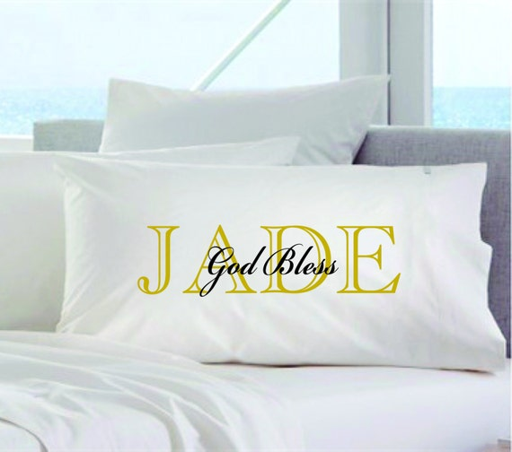 God Bless Personalized Pillowcases Couples By Exclusivelyurs