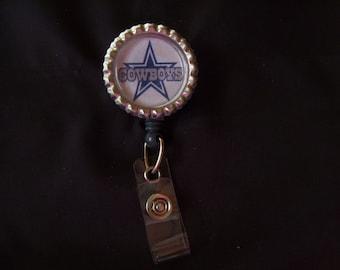Badge Reel - ID Lanyard - (77) - Dallas Cowboys Badge Reel - Cowboys ID Holder Dallas Cowboys Football