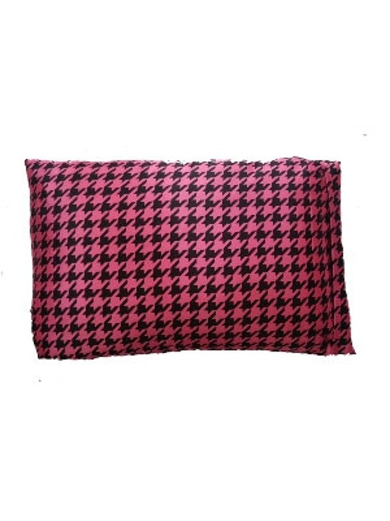 Luxe Satin Zippered Pillowcase Fuchsia By Thepamperedcurl