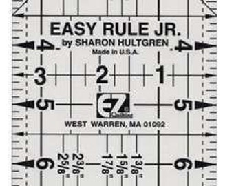 Easy Rule Jr Quilting ruler - Sharon Hultgren - 8823752 - Acrylic 3-1/2 x 9-1/2 Inches