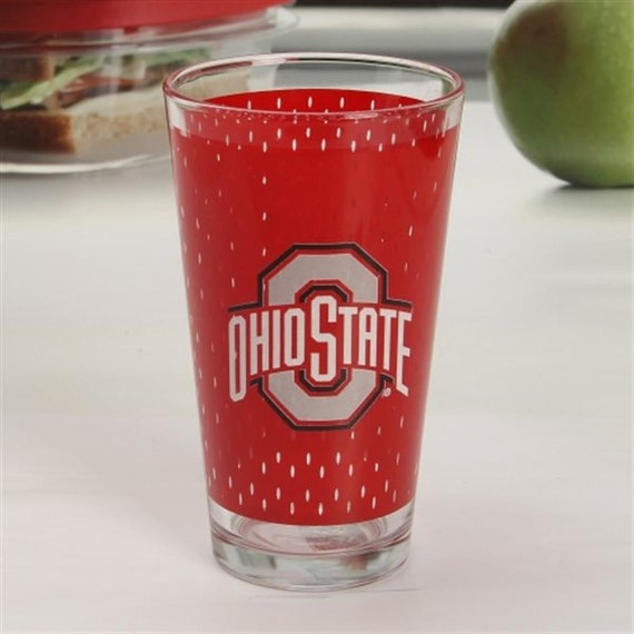 ohio state buckeyes 17oz beer candle by livingtreecandles on etsy