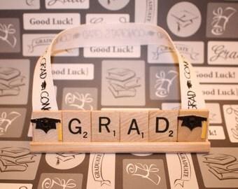 Sale, Graduation Ornament, Graduation Decor, Graduation Party, Scrabble, College Graduation, High School Graduation, Senior, Class Of, Hats