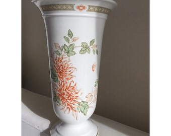Antique Chrysanthemum Design 14, Large Vase M&S St Michael Made in England