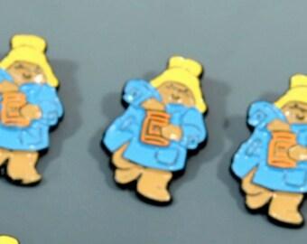 Paddington Bear Buttons - 5