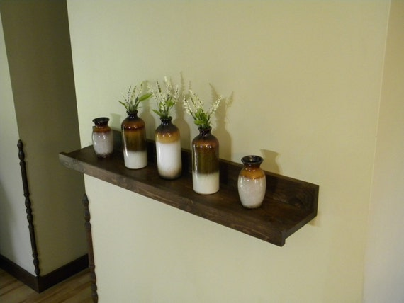 Floating Shelf Storage Organization Wood By Jnmrusticdesigns