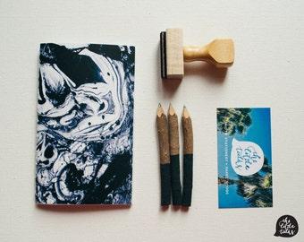 Marble Jotter III - Handbound Jotter, Notebook, Journal