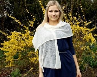 Ready to ship Light lace shawl bridal wrap luxury shrug mohair
