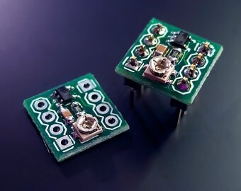 LTC1799 Precision Oscillator PCB module or on DIP6 adapter - for circuit bending or modding