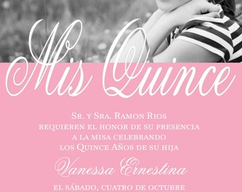 Quinceanera invitation | Etsy