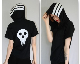 SOUL EATER - Death the kid hooded tee