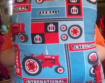 Items similar to international harvestor tractor pillow for International harvester room decor