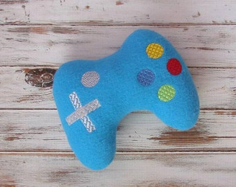Geek Baby, Gamer Toy - Video Game Plushie - Geeky Toy, Handmade, Video Game Controller, Stuffed Toy