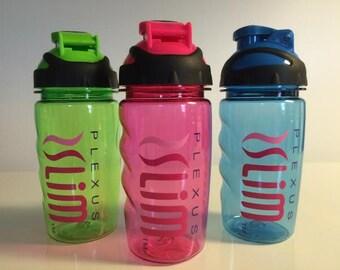 Plexus Slim 14.5 oz Water Bottle w/flip top / Compliant Approved