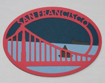 San Francisco Patch-Like Die Cut