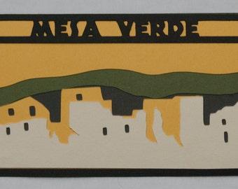 Mesa Verde National Park Patch-Like Die Cut
