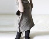 Wool cape, sweater wool poncho, knitted poncho, women wool sweater