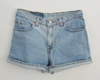Vintage Levi's Denim Shorts Women's 9 Cut Offs